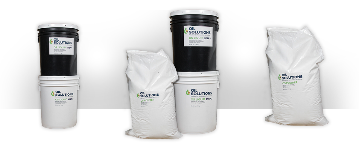 Oil Solutions Line of Oil Remediation Products