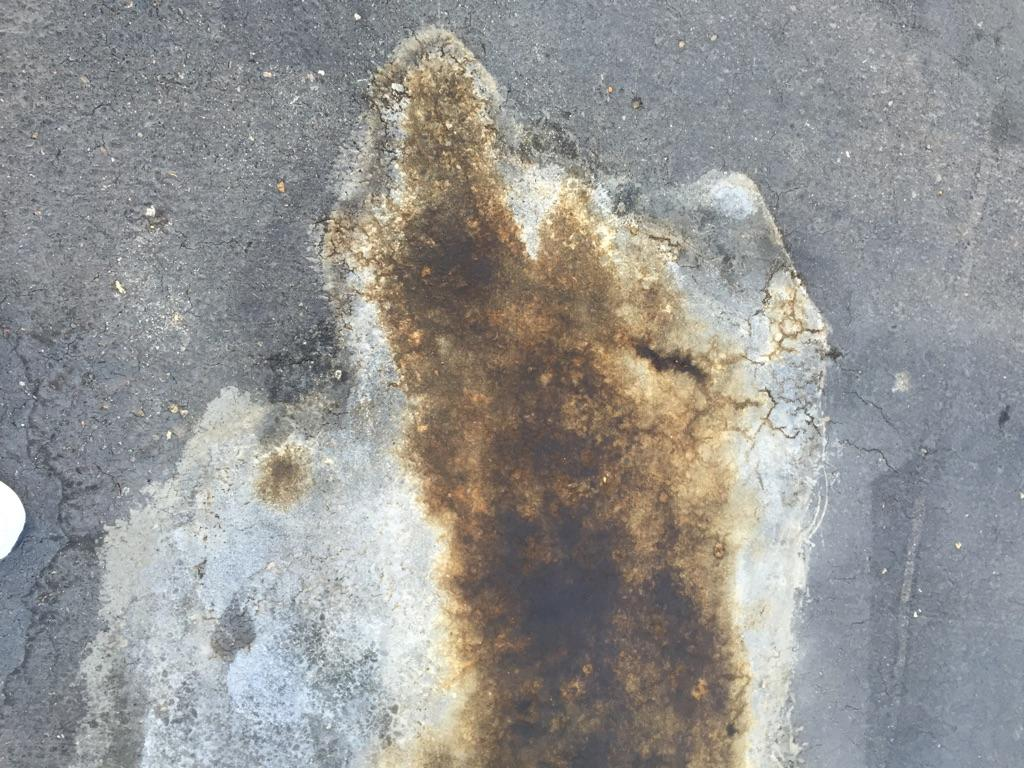 Stains on Driveways